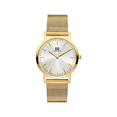 Danish Design dames analoog kwarts horloge met roestvrij stalen armband IV05Q1235