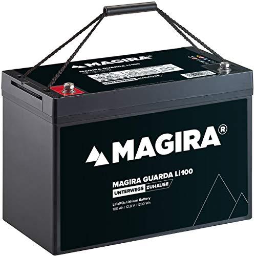 MAGIRA 12V 100Ah LiFePo4 Lithium-Eisenphosphat Versorgungsbatterie Guarda LI100