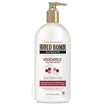 gold bond lotion diabetics