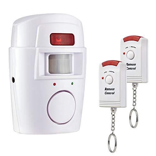 prodigital Antirrobo en Ampolla, con delicados Sensor con un Radius de 110Grados y una Alarma Sirena de 105Db, Completo con 2mandos a Distancia