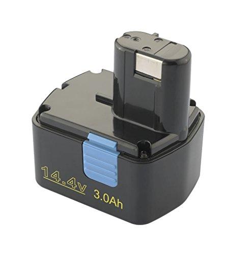 PATONA Bateria Ni-MH 3000mAh 14,4V Compatible con Hitachi DS14DVB DS14DVB WR14DMR DH 20DV DS 14DAF2 DS 14DMR DS 14DV DS
