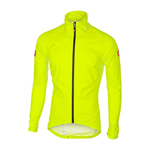 CASTELLI 4517500 Herrenjacke XL Gelb fluoreszierend.
