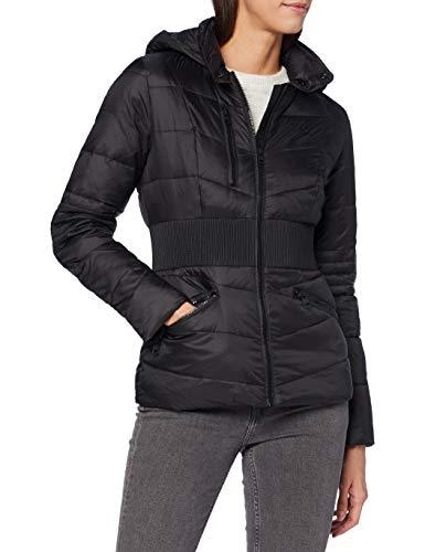 Calvin Klein Feminine Moto Jacket Chaqueta, Ck Black, XL para Mujer