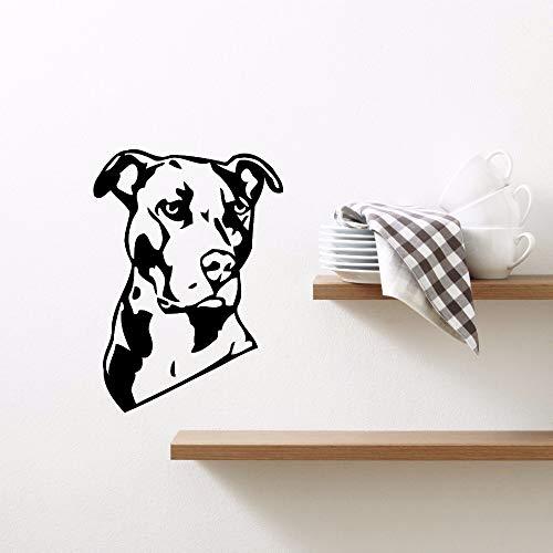 Tianpengyuanshuai Sticker Mural pour Animaux de Compagnie Amovible Vinyle Animal de Compagnie Murale Art Mural décoration de la Maison 42X58 cm