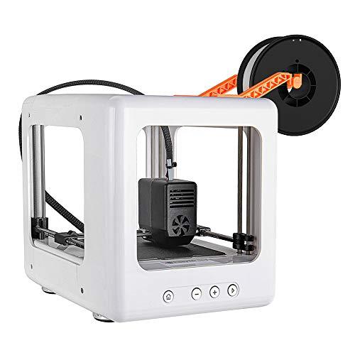 Anbull Stampante 3D Stampante fai da te, stampante 3D completamente assemblata con software di taglio 90 * 110 * 110 mm, stampa con un solo tasto per l'educazione domestica e regali