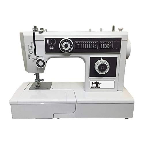 ZHongWei-- Máquina de Coser, Hogar Multi-función de la máquina de Coser, Pequeña Máquina de Coser eléctrica con la fijación del Borde 85W / 105W (Color : 85W)