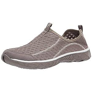 ALEADER Men's Mesh Slip On Aqua Water Shoes Walking Sneakers Overcast Gray 11 D(M) US