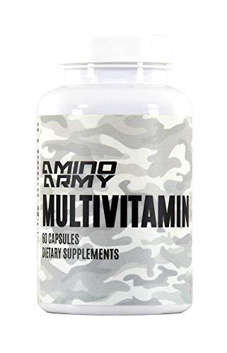 Multivitamin - Vitamins A C D E K Thiamine Riboflavin Niacin Vitamin B6 Folate Biotin Pantothenic Acid Iron Iodine Zinc Selenium Copper Manganese Chromium Molybdenum - 60 Daily Capsules