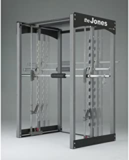 Bodycraft Jones Light Commercial Power Rack Lat Attachment: Included, Cable Crossover: Included, Bar Type: Active Balance Bar