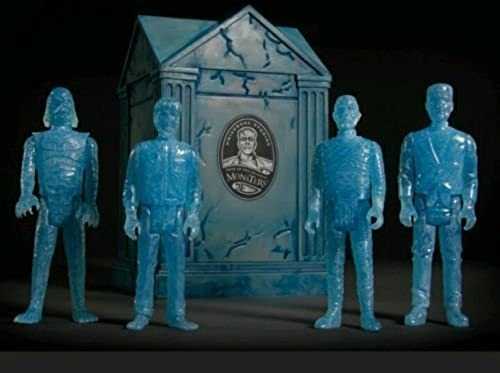 2015 SDCC Super7 Exclusive Universal Monsters Haunted Crypt Reaction Figure Set by FUNKO