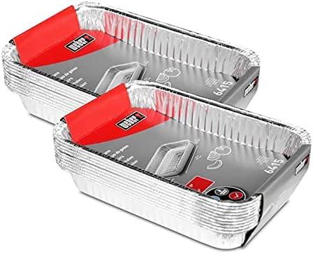 Weber 6415Small Aluminium Drip Tray [Pack of 10, 2 – Pack