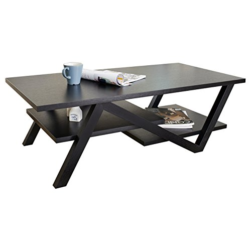 Enitial Lab Finley Rectangular Coffee Table, Black