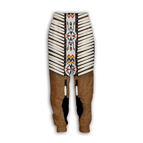 Heren/Dames Joggers - 3D Printed Novelty American Indian Sweatpants Ethnic Totem Patterns Pants