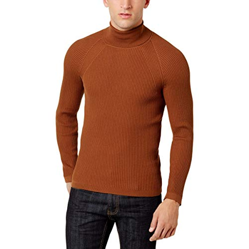 Inc Mens Ribbed Turtleneck Sweaters