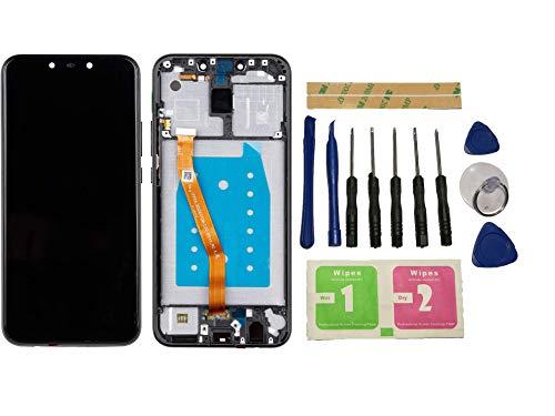 """Flügel per Huawei Mate 20 Lite SNE-LX1 SNE-LX2 SNE-LX3 6.3"""" Schermo Display LCD Display Nero Touch Screen Digitizer Sostituzione Assemblea Frame di Ricambio e Strumenti Gratuiti"""