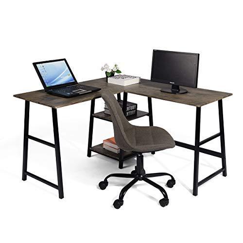 escritorio de esquina de la marca GOMYHOME
