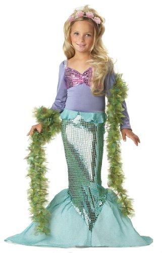 California Costumes - Costume di Carnevale da sirena, per bambina