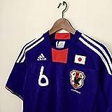 アディダス サッカー 日本代表 ユニフォーム 2010年 内田篤人 背番号6 Mサイズ FIFA W杯 南アフリカ大会