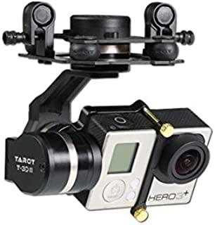 Tarot GOPRO 3D Metal CNC 3 Axis Brushless Gimbal PTZ for GOPRO 4 3+ 3 FPV Quadcopter TL3T01