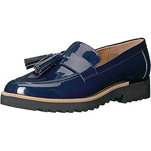 Franco Sarto womens Carolynn Loafer Flat, Inky Navy, 7.5 US