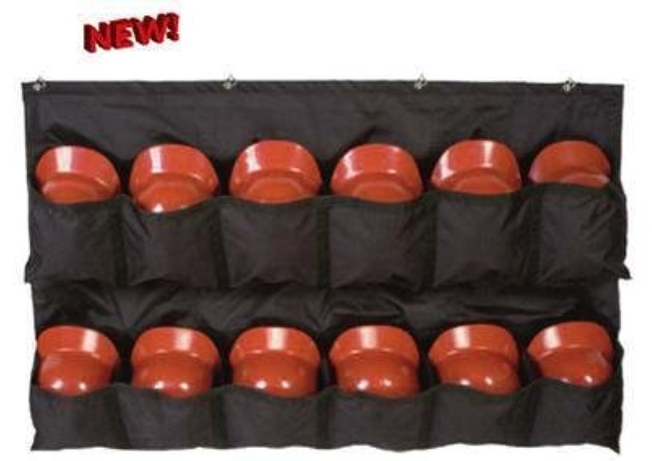スナック内陸背景野球/ソフトボールヘルメットラックTravelling Dugoutバッグwithフェンスフック( 12メッシュYouth / Folds、大人のバッティングヘルメット/ Catchers ) Carrying )