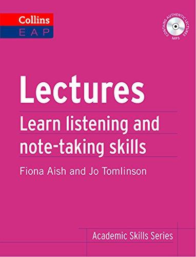 Academic Skills: Lectures: B2+ (Academic Skills) (English Edition)