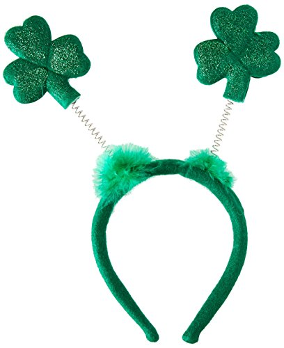 Beistle 30772 Glittered Shamrock Boppers Party Hat