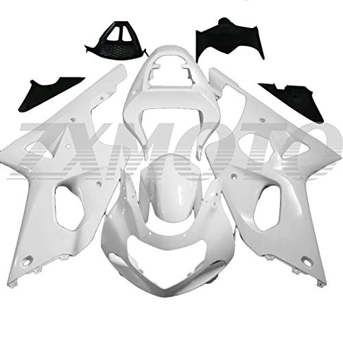 ZXMOTO Unpainted Fairing Kit for 2000 2001 2002 Suzuki GSXR 1000 Fairings Set