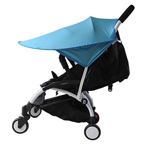 Bébé Poussette Pare-soleil Coque, Full Canopy anti UV Soleil et du vent Shield Moustiquaire universel pour poussette Carrosse