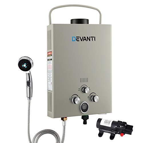 Devanti Hot Water Heater Portable Camp Shower