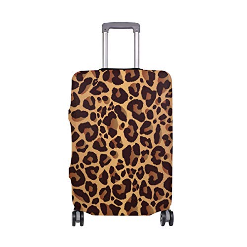 Suitcase Cover Animal Leopard Print Lightweight Luggage Cover Protector Fits 18-32 inch