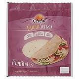 Céréal Piadine senza Glutine, Senza Latte, Senza uova, Alternativa al pane ma senza Glutine, senza strutto - 200 Gr