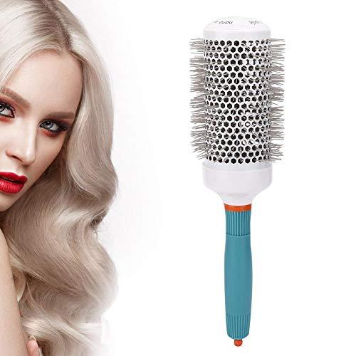 Cepillo profesional de cilindro de pelo rizado, cepillo de peine de peluquería...
