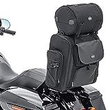 Bolsa Respaldo Sissy Bar con rulo para Motos Custom Craftride SXL posteriore