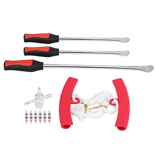 Bandenlichter-gereedschapsset, professionele wielwissel-bandenlepel -strijkijzer-gereedschapsset 1 * 14.5
