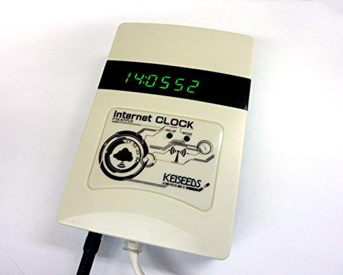 『電波時計信号送信機能付き時計(白) P18-NTPLR』の2枚目の画像