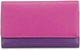 mywalit Women's Large Flapover W/Back Zip Purple