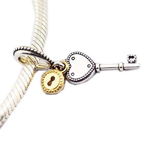 BAKCCI - Cuentas de plata 925 para regalo de San Valentín
