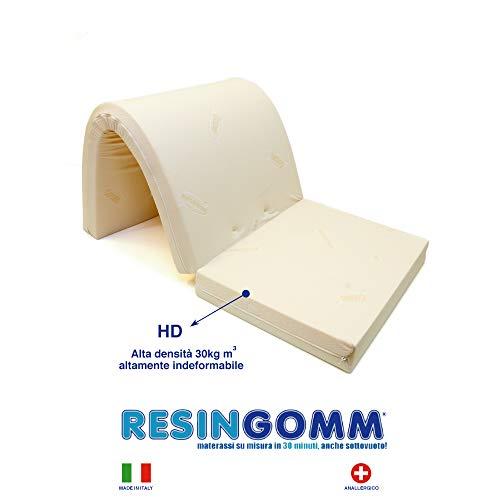 Colchón matrimonio para sofá cama,160x 190x 10 cm,de alta densidad, 30kg el m3,tela resistente: algodón 9Fettucce, para anclaje duro, altamente indeformable.Producto de fabricación italiana.