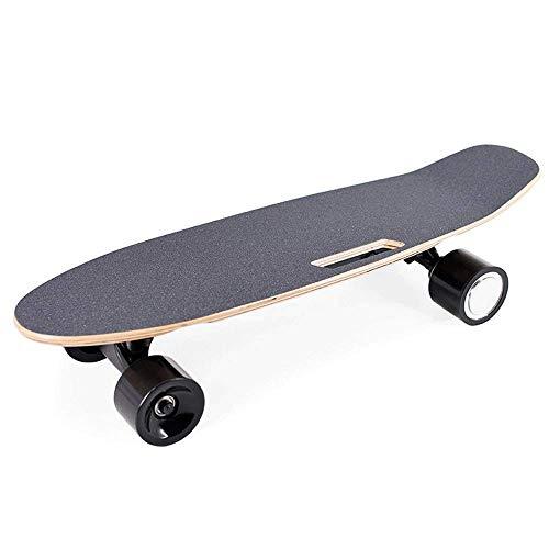JIEJIE 25-Zoll-Einzel- und Doppel Antrieb elektrisches Skateboard, mit drahtloser Fernbedienung, Höchstgeschwindigkeit 20 km/h, Skateboard QIANGQIANG (Size : M+Dual Drive)