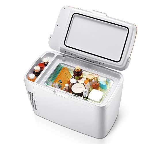 ZL Mini Piccolo congelatore Portatile, scaldabagno Elettrico per casa, Ufficio, Auto, Frigorifero termoelettrico AC & DC, Dispositivo di Raffreddamento della Birra per Ufficio dormitorio