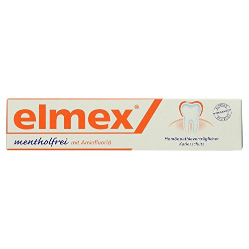 elmex mentholfrei Zahnpasta, 75 ml