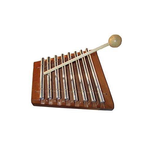 Glockenspiel Xylophon Glocken Klang Holz Kinder Musikinstrument Spielzeug Rhythmus Percussion (Unbemalt)