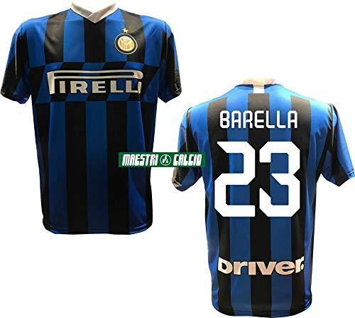 MAESTRI DEL CALCIO Maglia Replica Ufficiale BARELLA 23' F.C. Inter 2019/2020