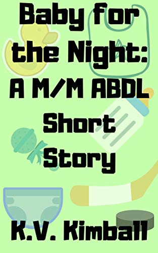 Baby for the Night: A M/M ABDL Short Story (English Edition)