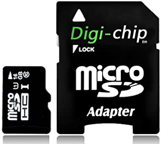Digi-Chip HIGH SPEED 16GB UHS-1 CLASS 10 Micro-SD Memory Card for Blackberry Curve 9320, 9220, 9350, 9360, 9380, 3G, 9300, 8520, 8900, 9300 ,9350, 9360, 9380, 8900 and 8520 cell phone