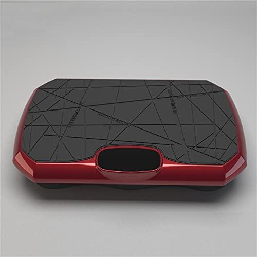Vibrationsplatte 4D – Vibrationsplatte Testsieger 2020 Unterstützt Bluetooth-Verbindung, Widerstandsseil   Leicht Zu Bedienen   Magnetfeldtherapie Massage(Größe(Color:Rote Vibrationsplatte kraftvoll)