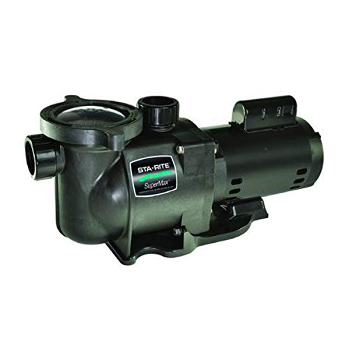 Pentair Sta-Rite N1-1-1/2A HP SuperMax Standard Efficient Single Speed High Performance Inground Pool Pump, 1-1/2 HP, 115/230-Volt