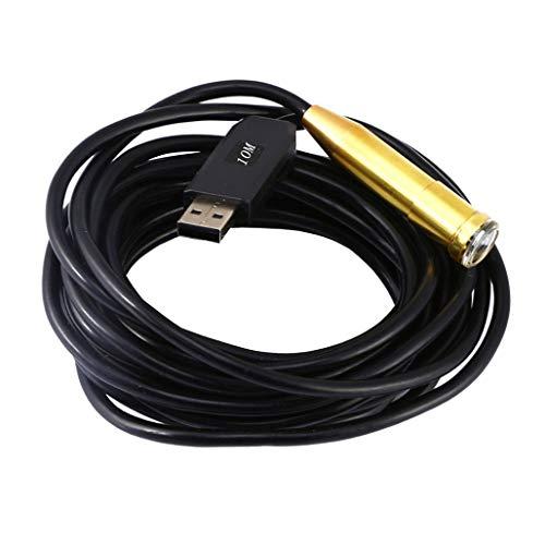 MMFXUE 14,5mm HD Kamera Endoskop USB Endoskop Pipeline Kraftstofftank Auto Inspektionskamera Wasserdicht Nachtsicht Industrie Endoskop Unterstützung Computer Micro Kamera (5/10/15/20/25M)