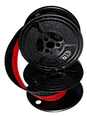 Farbband für DIN 32755-40mm Durchmesser - schwarz/rot - Gr.32-Farbbandfabrik Original